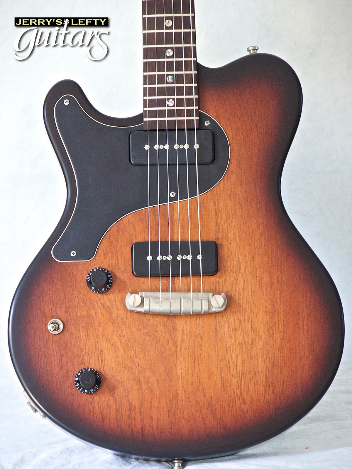 jerry 39 s lefty guitars newest guitar arrivals updated weekly nik huber jr special 2 tone. Black Bedroom Furniture Sets. Home Design Ideas