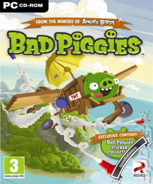 Bad Piggies Cover, Poster