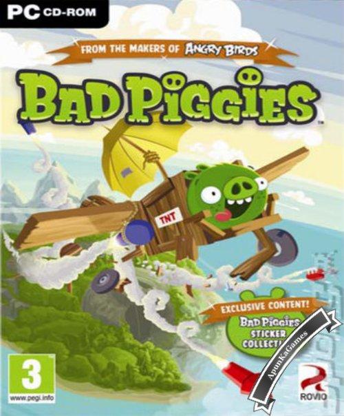 Bad Piggies Cover, Poster