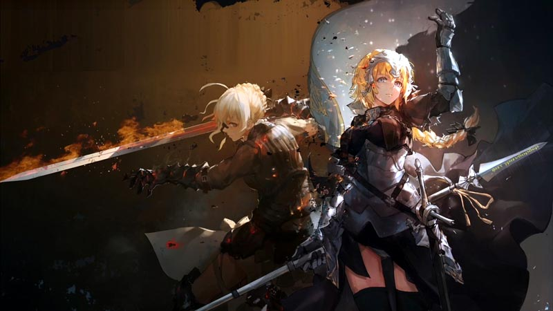 Only Hd Wallpapers Girl Fate Apocrypha Wallpaper Engine Download Wallpaper