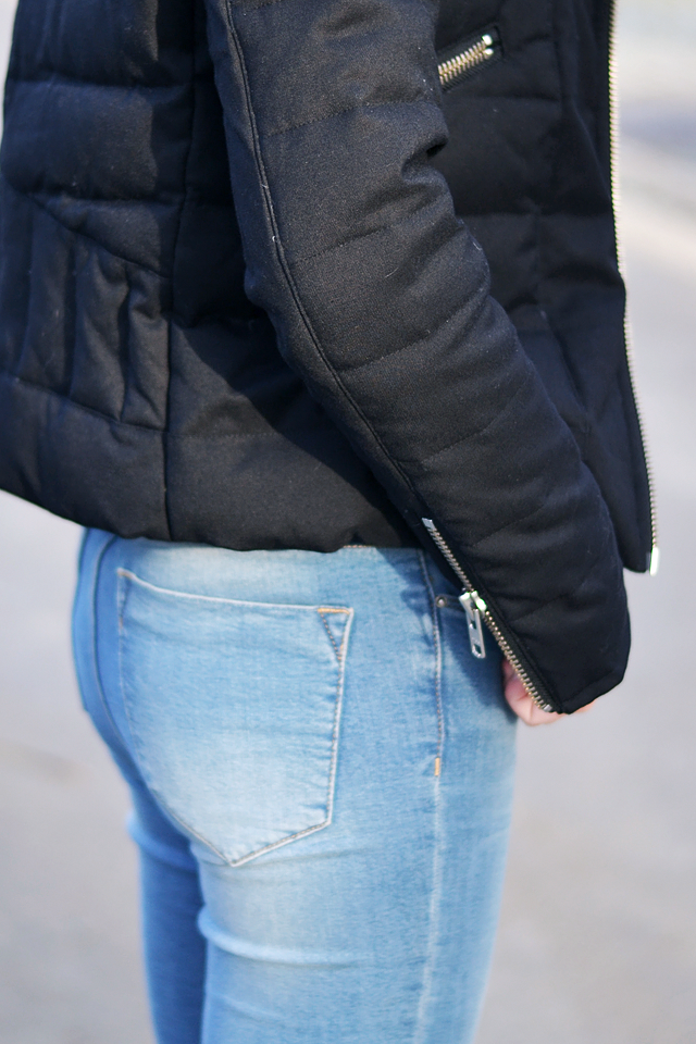 Asos ridley jeans, the kooples jacket