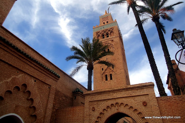 Mesquita Kutubía, Marrakesh, Marrocos.