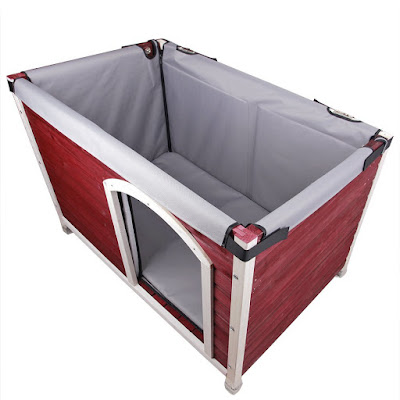 heavy duty insulation wood dog house