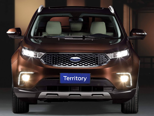 Ford Territoty - Concorrente do Jeep Compass