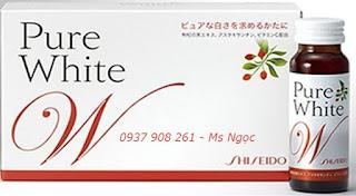 Làm trắng da toàn thân với Collagen pure white