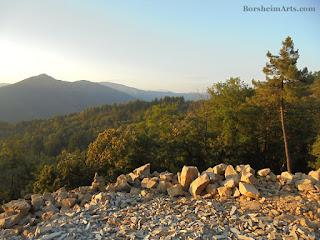 Cava Nardini stone quarry pietra serena, Vellano, Tuscany, Italy