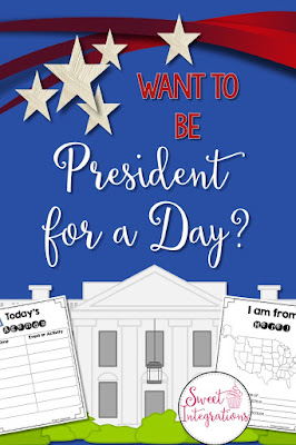 President for a Day, activities for studying the duties of a president
