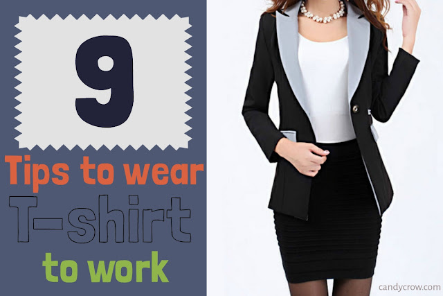 9 Tips to Wear T-Shirt to Work