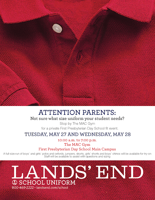 Lands' End Uniform Fitting
