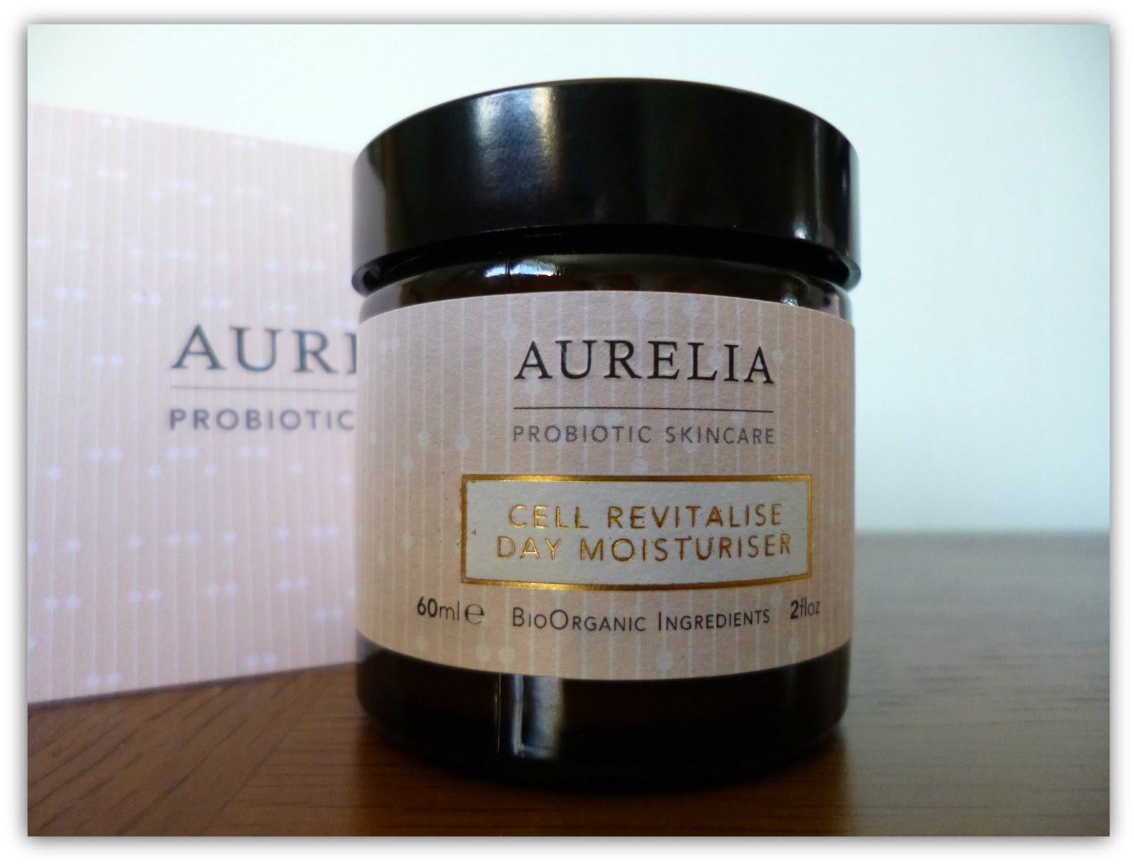 Aurelia probiotic skincare: Cell revitalise day moisturiser rave review