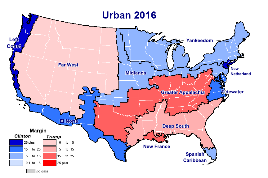 World Wide Woodard No the great US political divide isnt rural