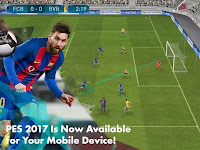 PES 2017 MOD v1.0.1 Apk+Data for Android Pro Evolution Soccer 17 Terbaru Full