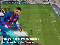 PES 2017 MOD v1.0.1 Apk+Data for Android Pro Evolution Soccer 17 Terbaru Full