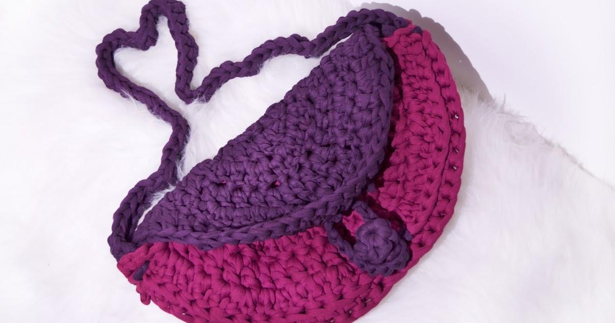Berry Punch Clutch Crochet Pattern Crochet To The Moon