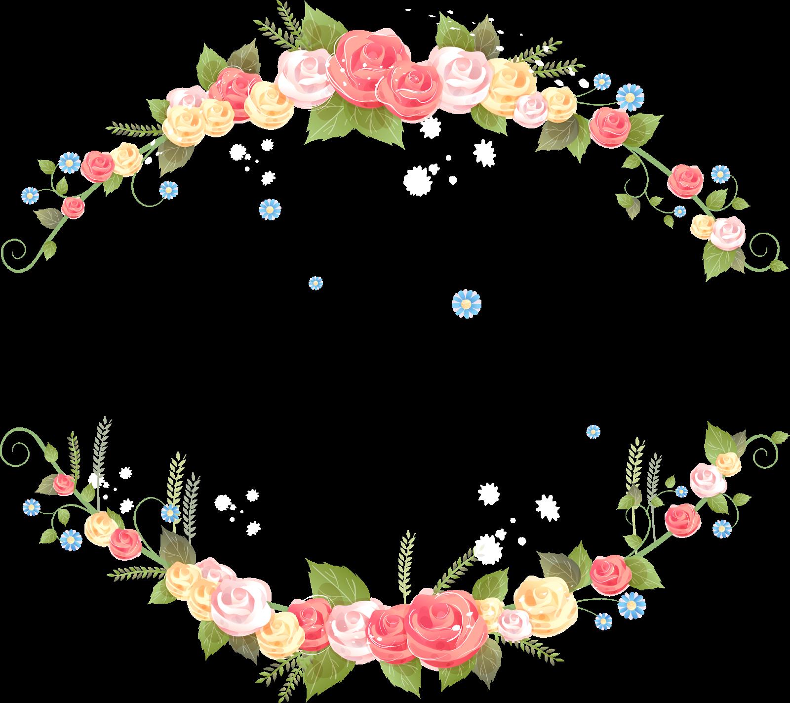 Vector Flores Convites Convites Casamento Casamento Png E: Borda Florais Clipart PNG Fundo Transparente