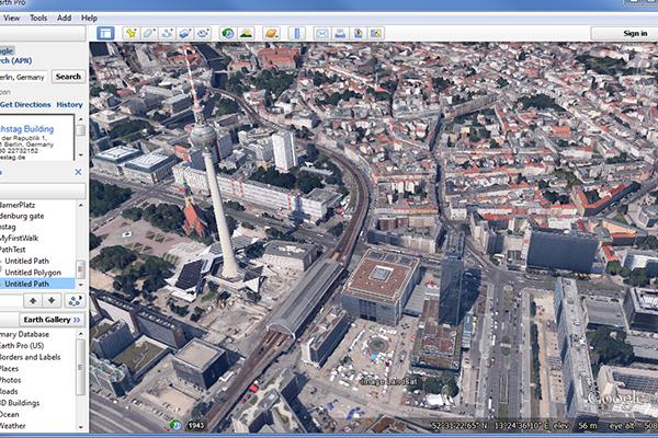 برنامج جوجل ارض الخرائط