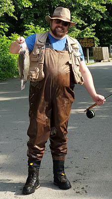New Waders, New Hat