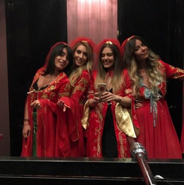 Noaptea de henna: Fahriye Evcen si Burak Özçivit