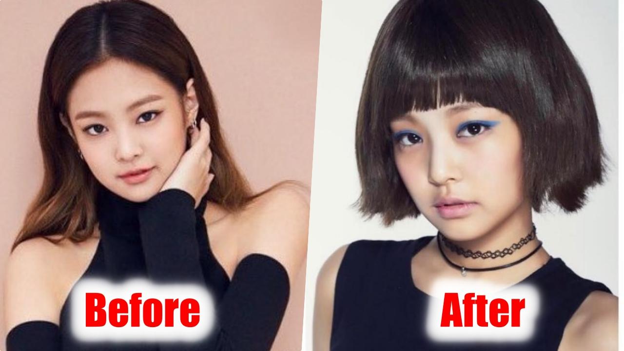 OMG Black Pink Jennie Dramatic Change Her Hairstyle, Korea