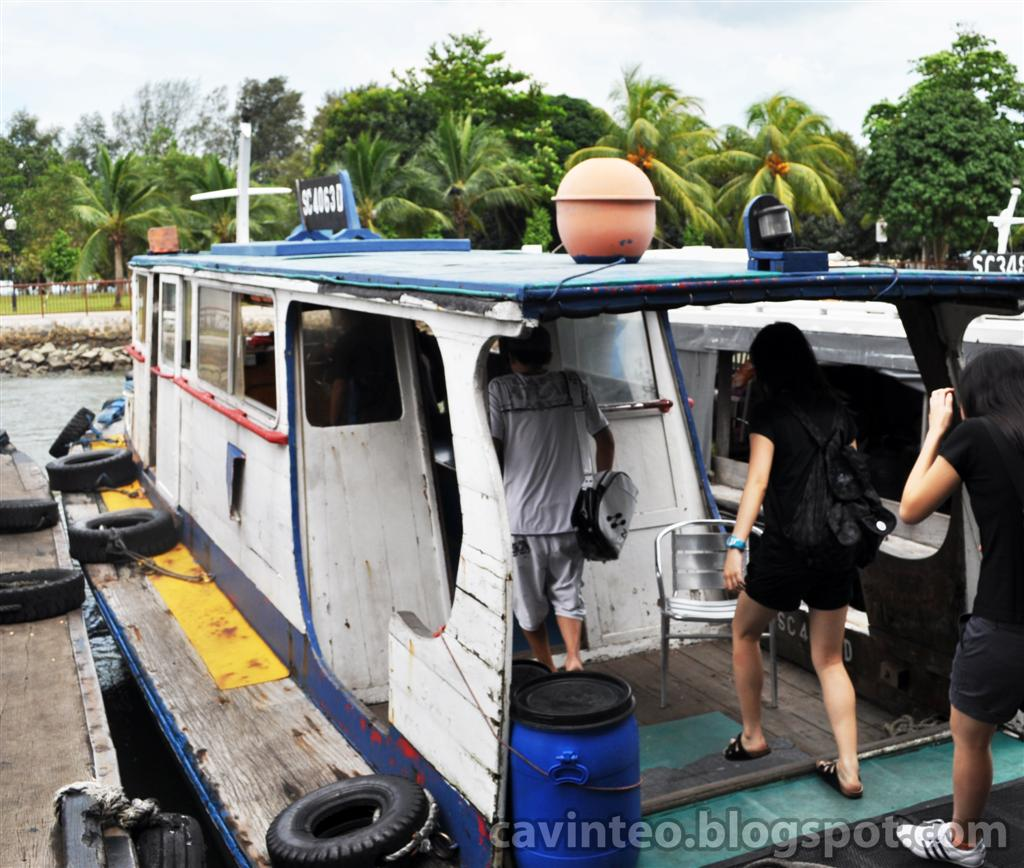Entree Kibbles Ferry To Pulau Ubin ĹŒæ•å²› Changi Point Ferry Terminal