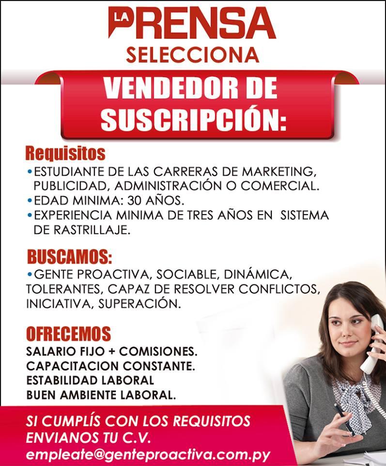 Ofertas de Trabajo 14 de Marzo de 2017 - 2da Parte ...