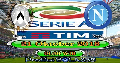 Prediksi Bola855 Udinese vs Napoli 21 Oktober 2018