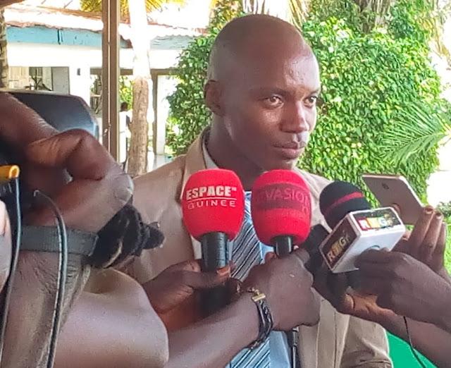 Monsieur Ibrahima Diallo président de ONG P. D. H