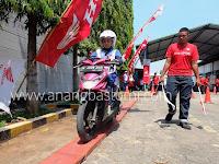 Honda Jateng dan HM Sampoerna Gelar Safety Riding Contest di Kendal