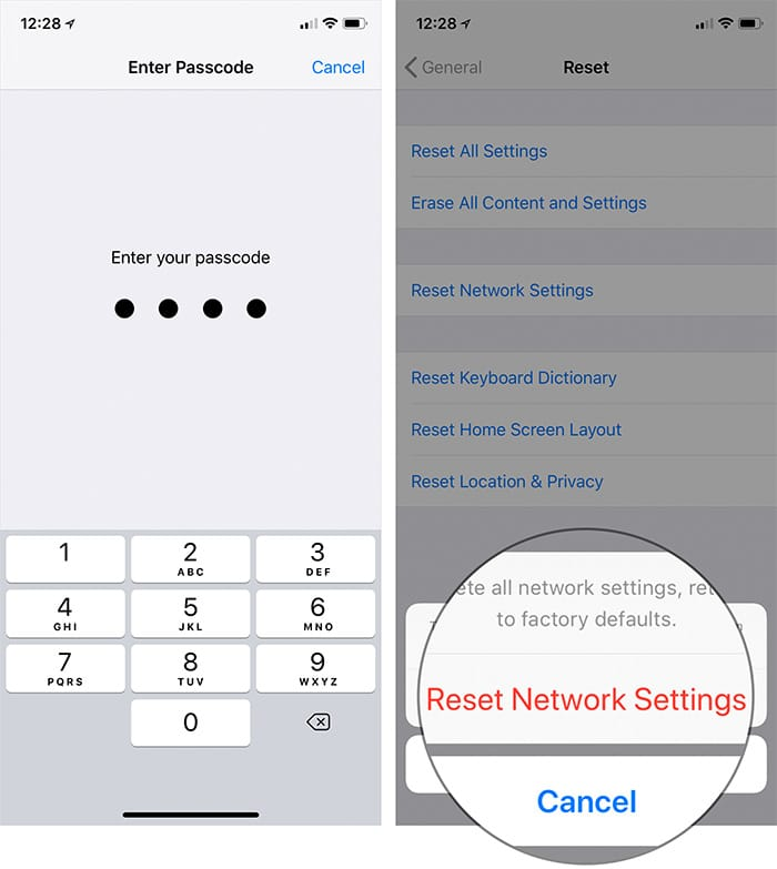 The final solution to the problem of non-contact wifi in ios