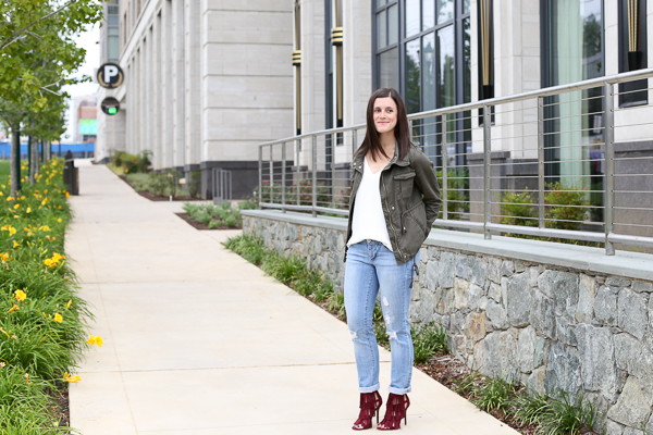Naturally Me, Boyfriend jeans and utility jacket
