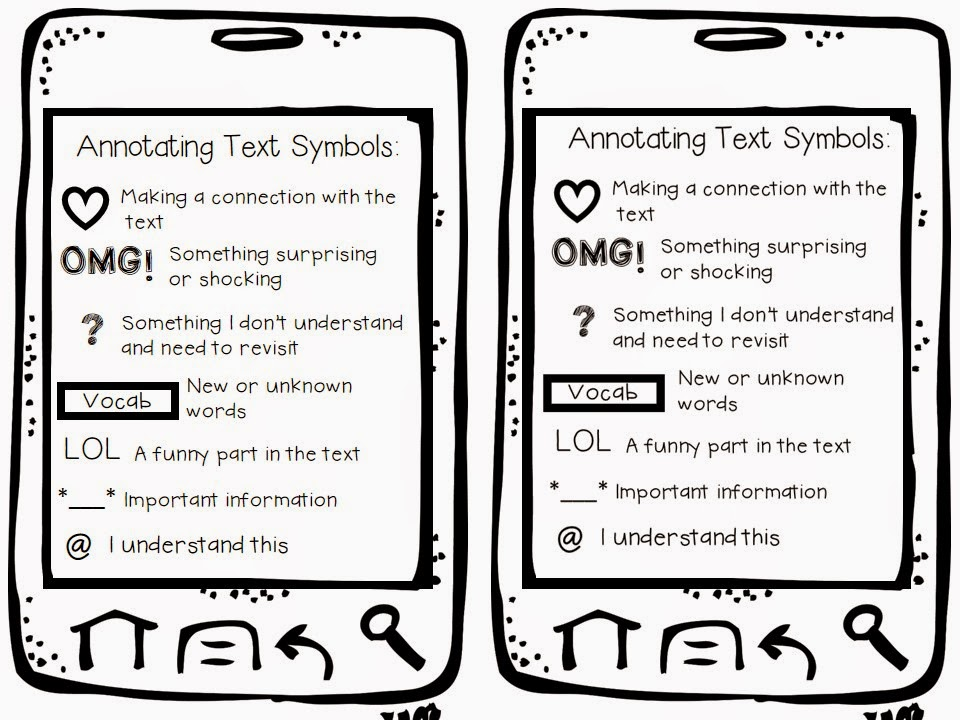 The {4th Grade} Journey: Friday Freebie for Annotating Text