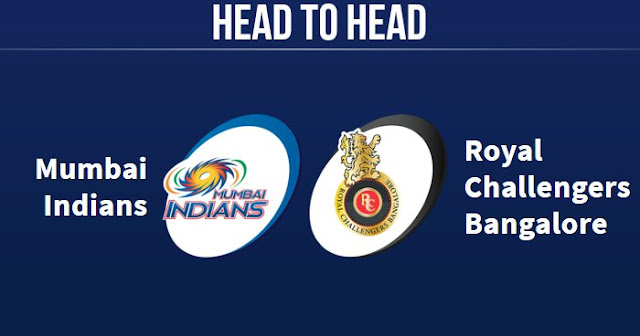 MI vs RCB Head to Head: RCB vs MI Head to Head IPL Records: IPL 2018