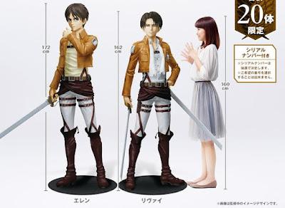 karakter anime dibuatkan figure life size
