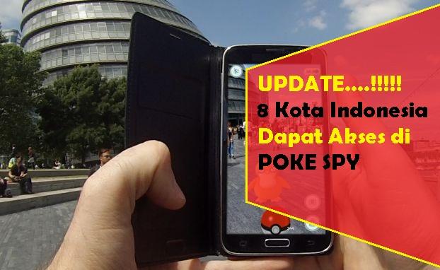 Aplikasi Pelacak Pokemon Tersedia di 8 Kota Indonesia