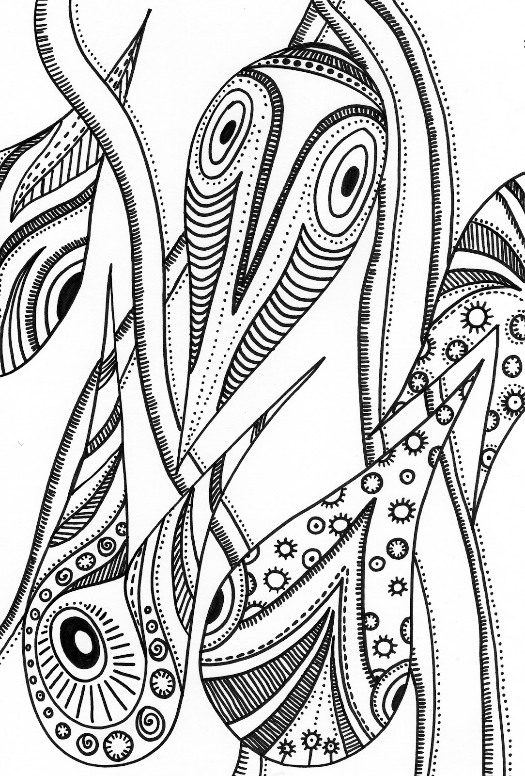 The Hemulen's Dress: My Colouring Pages