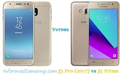 Harga dan Spesifikasi Samsung Galaxy J3 Pro (2017) vs J2 Prime