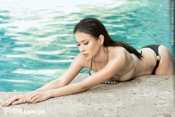 Click On: Sexy Photos Of LJ Reyes Inside FHM Philippines