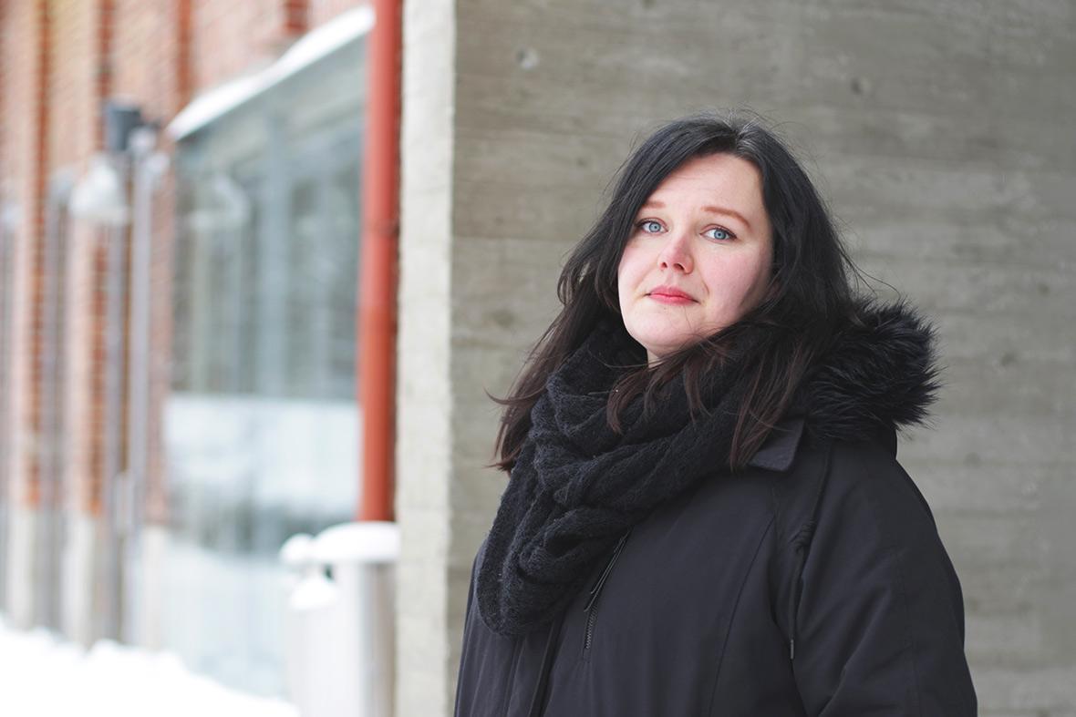 Kirjailija Niina Mero