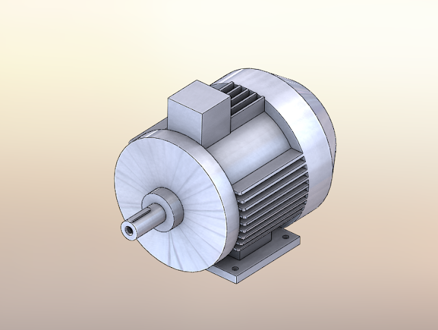Скачать двигатели АИР 3-D модели