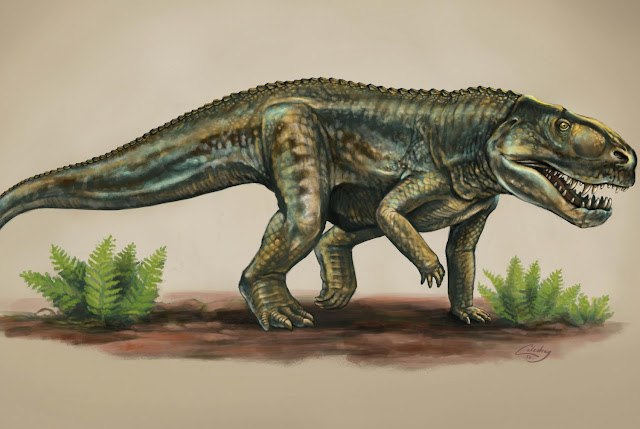 New reptile species from 212 million years ago