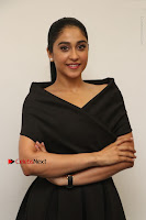 Actress Regina Candra Pos in Beautiful Black Short Dress at Saravanan Irukka Bayamaen Tamil Movie Press Meet  0018.jpg