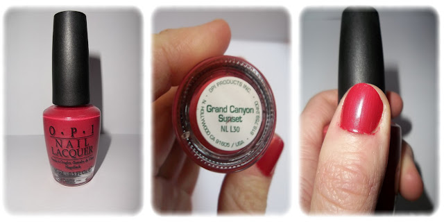 Swatch Vernis à Ongles Teinte Grand Canyon Sunset - OPI