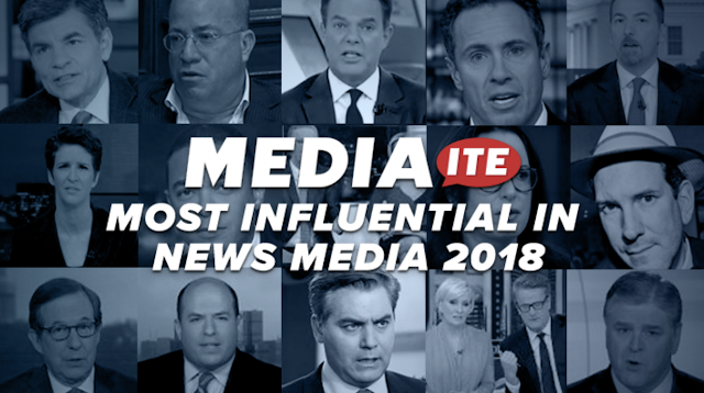 Mediaite's Most Influential in News Media 2018