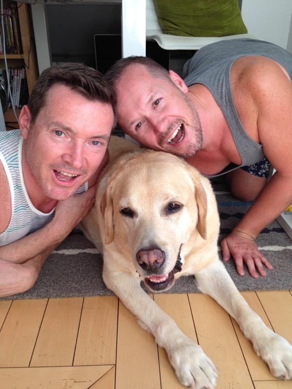 Labrador Cooper dads