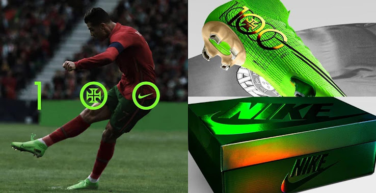 Concept Only Amazing Nike Mercurial Superfly Cristiano Ronaldo 100 Goals Boots Footy Headlines