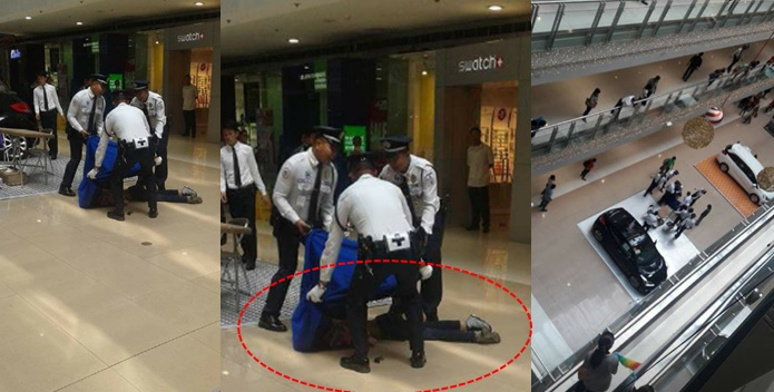 RTU student jumps to her death at SM Megamall