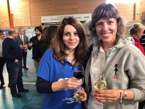 Nino Maisuradze, double championne de France et Tatiana Dornbusch, double championne de Monaco - Photo © Échecs & Stratégie