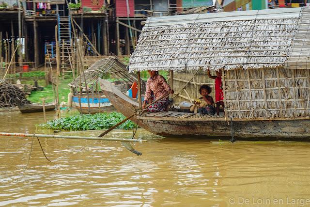 Kompong Khleang - Tonle Sap - Cambodge