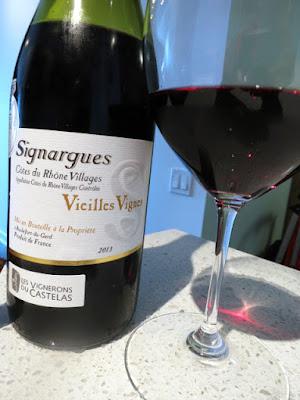 Les Vignerons du Castelas Vieilles Vignes Signargues Côtes du Rhône-Villages 2013 - AC, Rhône, France (88+ pts)
