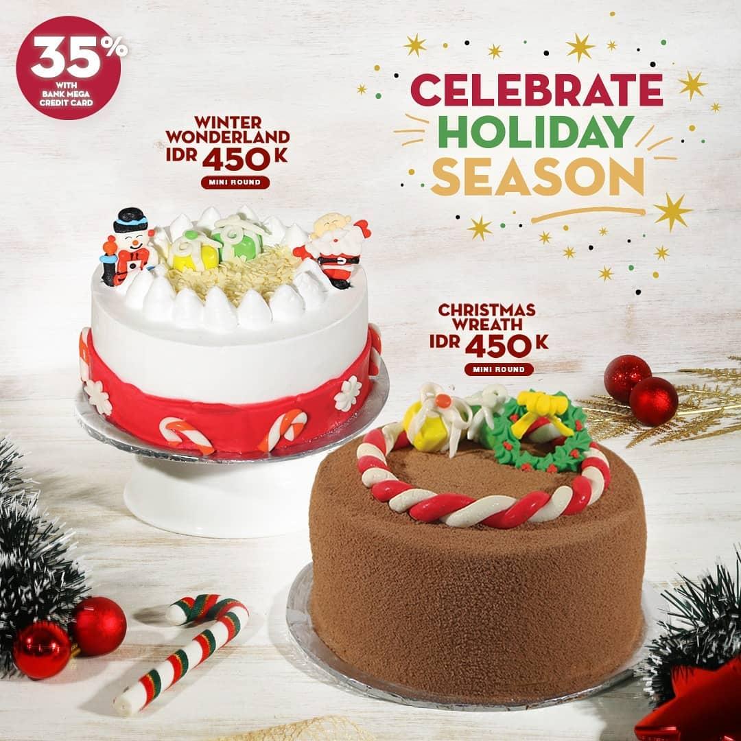BaskinRobbins - Promo Diskon 35% Cake Pakai Kredit Bank Mega